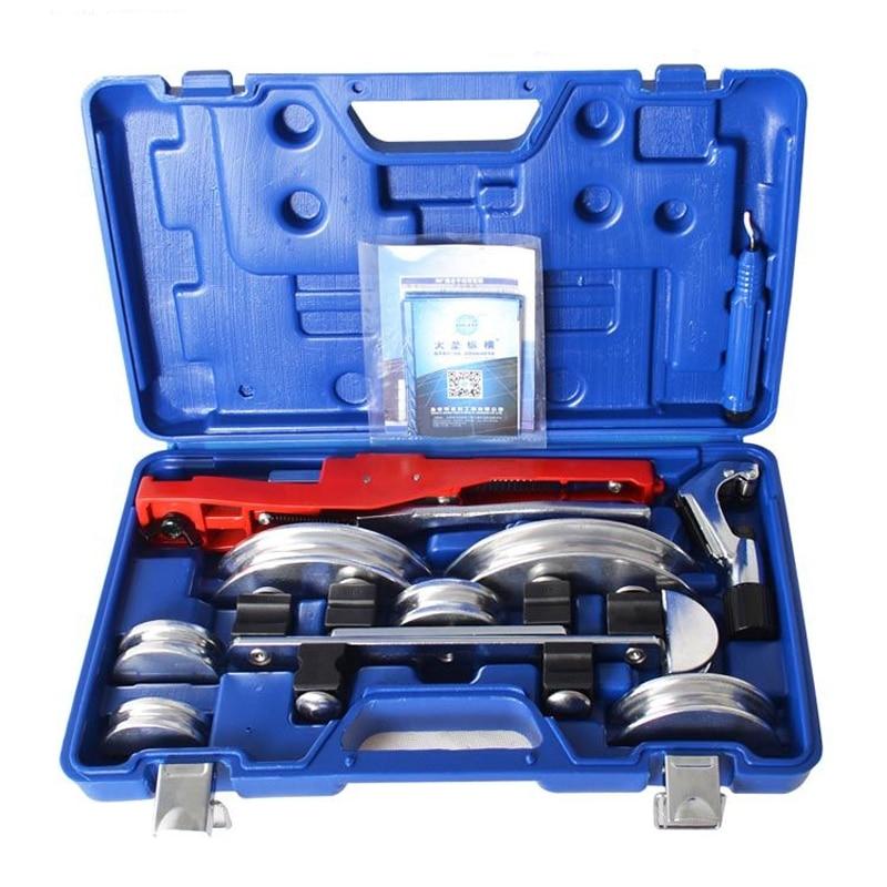 Climatisation coude outils tube de cuivre outil de pliage ensembles 6-22mm en aluminium tube cintreuse cuivre CT-999F