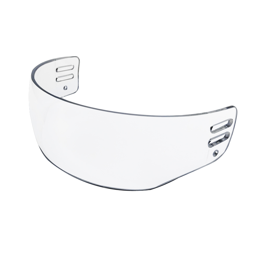 PRO VENTED-CUT HOCKEY VISOR (ANTI-SCRATCH / ANTI-FOG) CE CERTIFIED