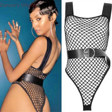 Hot Bar Lady Pole Dancing Sexy Dancewear disfraz Discoteca DJ Jazz  Performance Body Suit Fishnet medias ropa de escenario 7b6f97d0df2