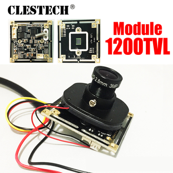 11.11biggest Sale!1/4Cmos FH8510+3005 1200TVL HD Color camera chip Finished circuit board mini module 3.6mm surveillance product