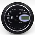 Tragbare cd walkman musik player unterstützt MP3 WMA CD-R format disc FM radio wiederholen bass boost stoßfest mit headset LED bildschirm
