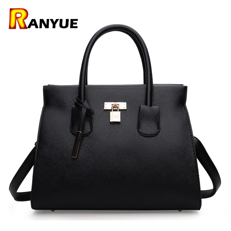 Luxury Lock Designer Handbags High Quality Pu Leather Bags Women 2017 Famous Brand Ladies Tote Hand Bags Crossbody Bolsos Mujer luxury handbags women bags designer 2016 pu leather crossbody bags for women vintage famous designer hand bags bolsos de mujer