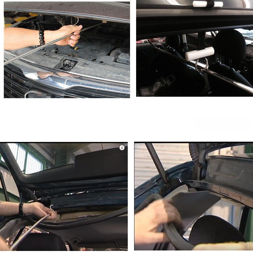 Metal Curved Lever Wheel Hooks Motorcycle Car Repair Accessories LIN