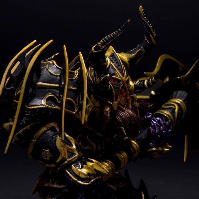 Hit WOW Online Game Series 1 Dwarf Warrior THARGAS ANVILMAR Action Figure PVC Toy (Chinese Ver.) 4