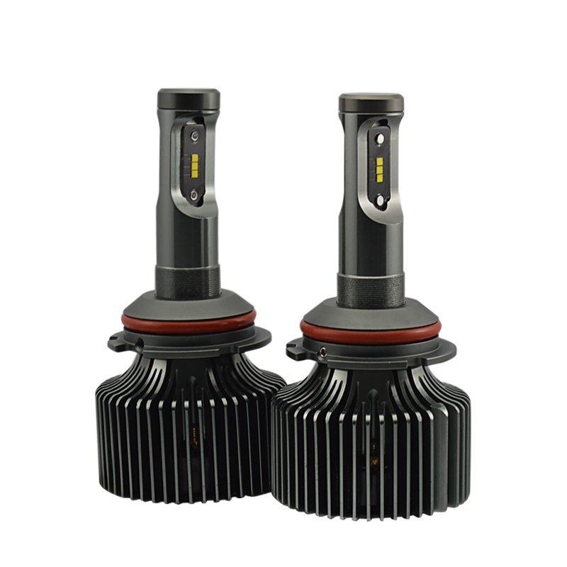 2pcs/set High Power 30W 8400LM Auto LED Headlight 9004 9007 Hi/Lo Beam Car Styling All in One White Headlamp Free Shipping one set 9004 cree led headlight conversion kit high low beam hb2 auto car moto car styling led headlamp driving lamp bulbs white