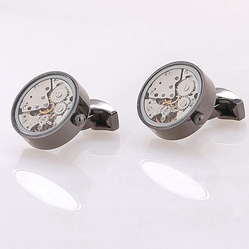 Round Watch Movement Cufflinks (16)