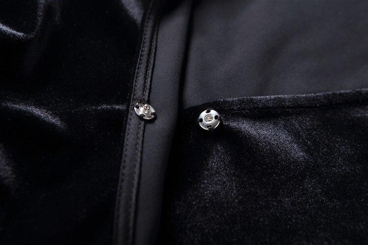 Spring 2017 neck Patchwork Manches longueur Coton V Marque Mignon Élégant Robe Femmes Genou Silm L'europe Récent Pleine Fleurs Imprimer nwEF0x5qq