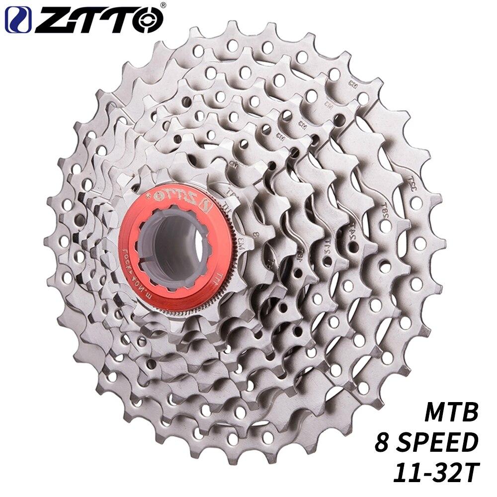 Ztto mtb 8 velocidade cassete 11-32 t bicicleta rodas livres rodas dentadas mountain bike peças compatíveis para m410 m360 m310 m280