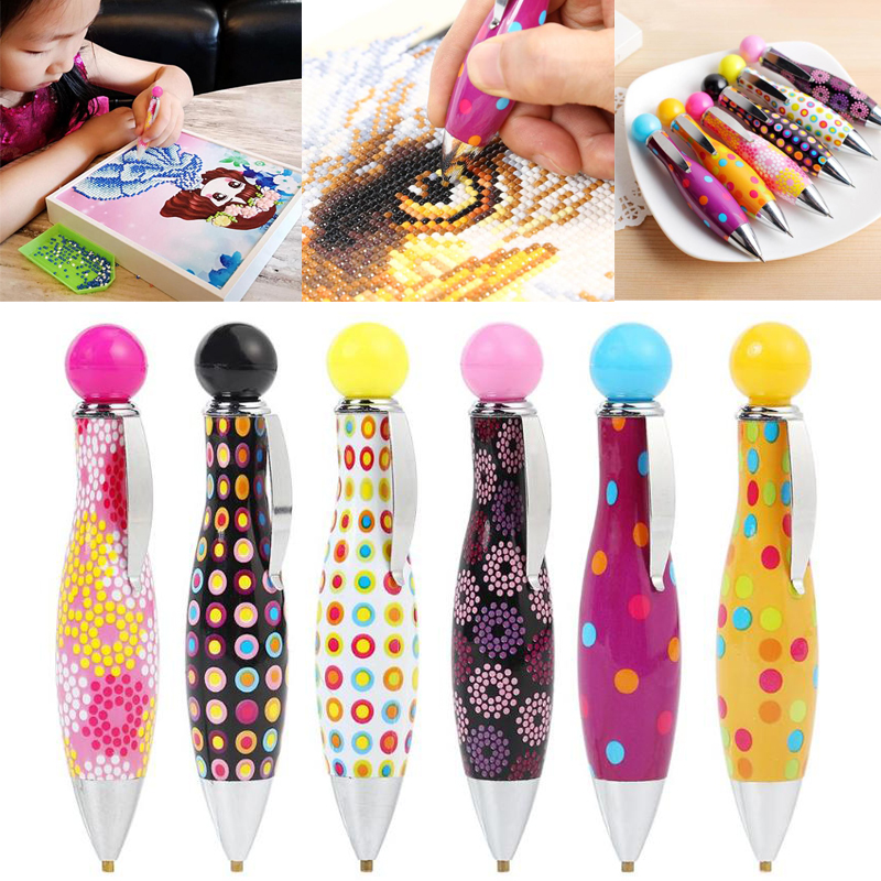 Pen Painting-Tool Embroidery-Accessory Cross-Stitch-Tool-Kits Point-Drill Diamond Professional