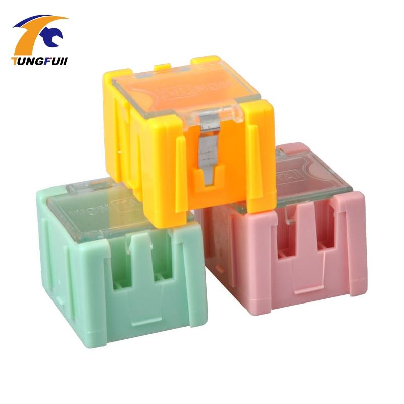 rychlá dodávka 50ks SMD SMT komponenty skladovací krabice - Sady nástrojů - Fotografie 5
