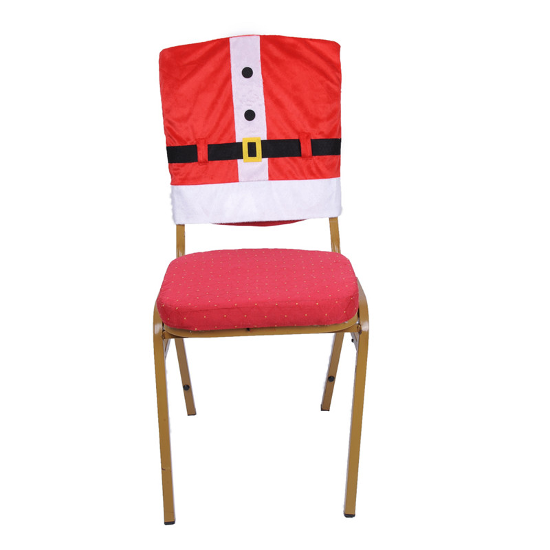 chair cover christmas decorations pea pod ᓂmerry covers santa claus clothes party merry decoration use in house hotel restaurant chairs