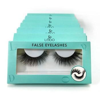 50 Pairs of Eyelashes 3D Mink Lashes Natural Long False Fake Eyelashes Full Strip Eye Lashes Extension Makeup Cosmetics Tools