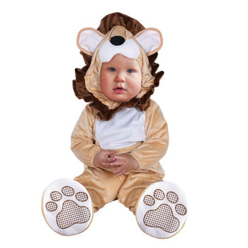Halloween Infant Toddler Lovable Animal Lion Costume