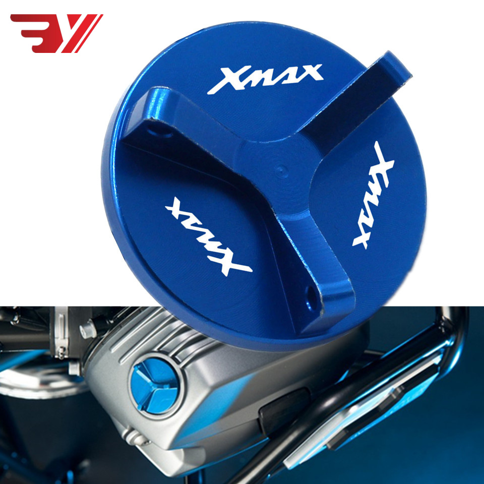 Motorcycle M20*1.5 Engine Oil Filler Cap For YAMAHA XMAX250 XMAX 300 X-XMAX 300 2017-2018 CNC Aluminum Accessories