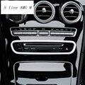 Автомобильный Стайлинг  кондиционер  CD панель  декоративная крышка  отделка  авто интерьерные аксессуары для Mercedes Benz GLC Class X253