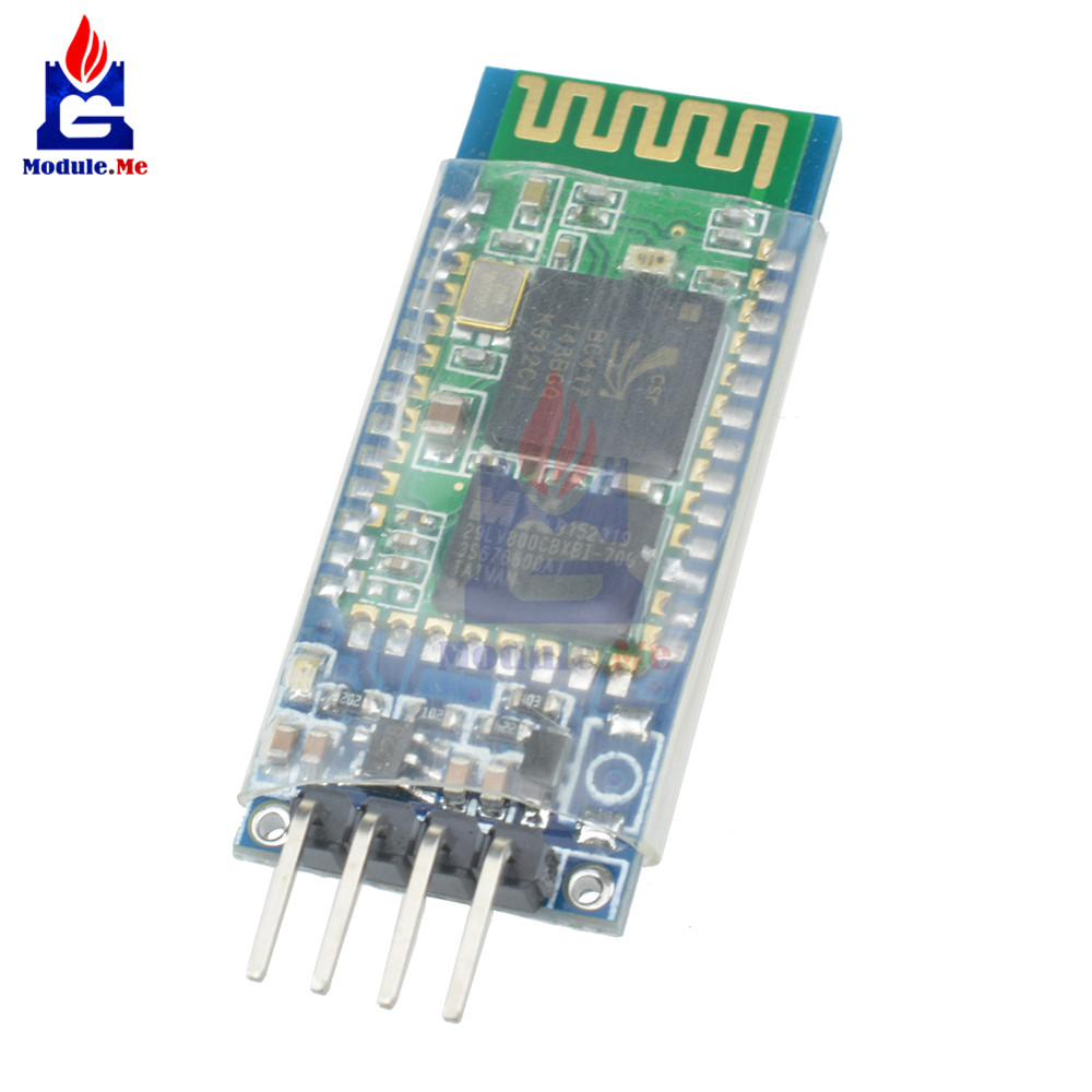 <font><b>HC</b></font>-<font><b>06</b></font> <font><b>HC</b></font> <font><b>06</b></font> RF Wireless Bluetooth Transceiver Slave Module RS232 / TTL to UART Converter Board 3.3V 4PIN for Arduino image