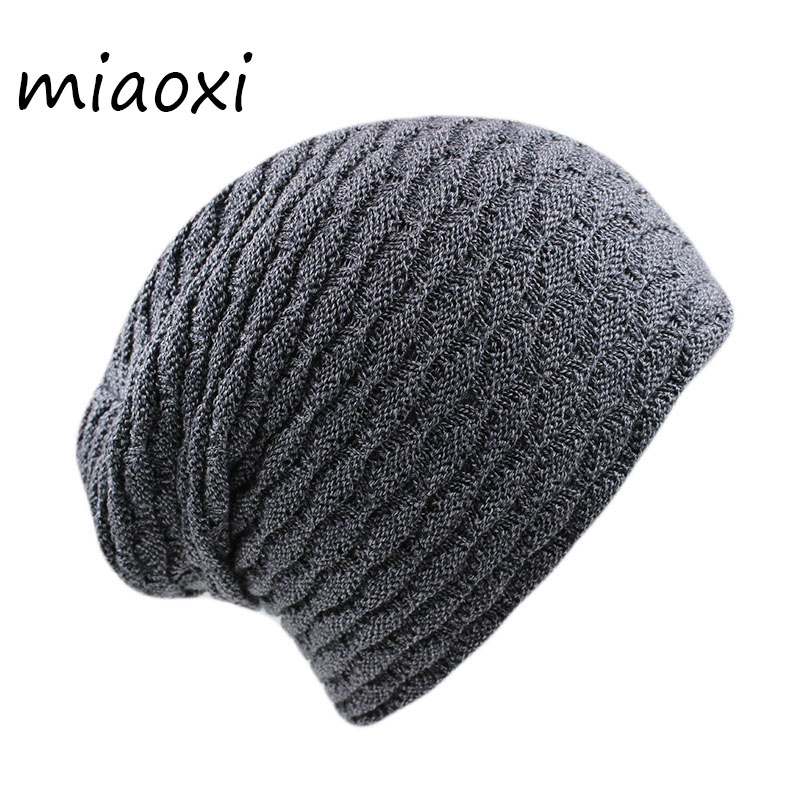 miaoxi Hot Sale New Arrival Men Women Adult Winter Thick Warm Skullies & Beanies Fashion Hat For Male Soft Knit Bonnet Gorros hot sale new arrival men cutout jeans fashion embroidery pencil trousers