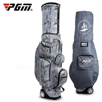 Retractable Golf Travel Bag Wheels Stand Caddy Airbag Flight Aviation Bags Multi Function Golf Cart Bag With Rain Cover D0481