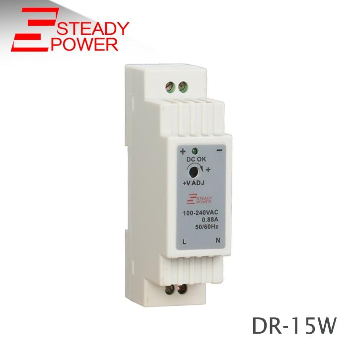 (DR-15-12)Hot Sales 15w 12v 1.25a Din Rail Power Supply Single Output Led Transformer