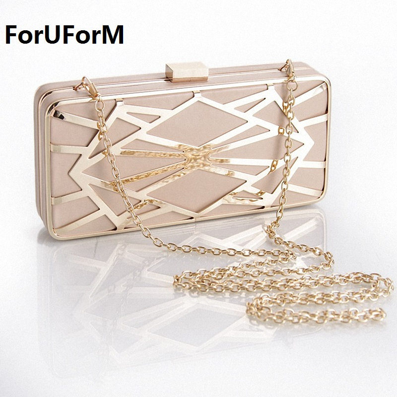 Minaudiere Evening Party Bag Women Day Clutches Ladies Long Chain Gold bridal Clutches Purses and Handbag shoulder bags LI-1015 new women s retro hand beaded evening bag wedding bridal handbag chain shoulder bag stitching sequins diamond stone day clutches