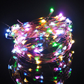 33FT 10M 100 led Fairy Lights for Christmas Holiday Wedding Party Decoration LED Copper Wire String  Lamps