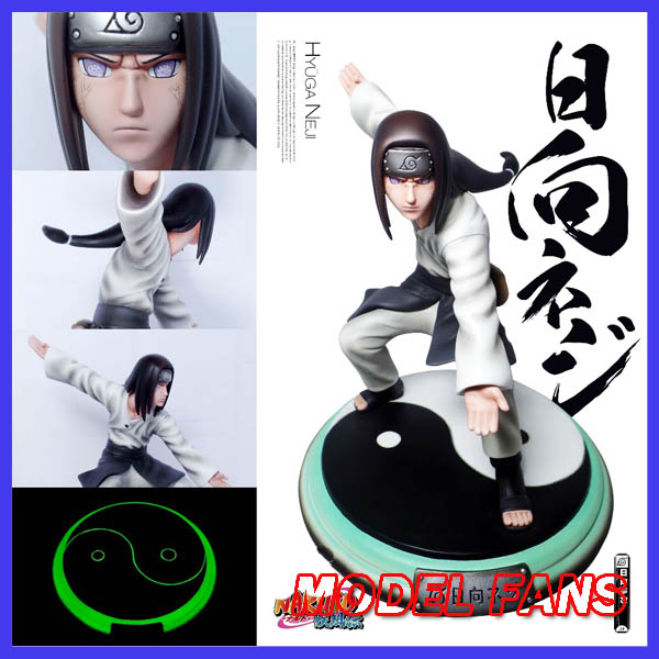 MODEL FANS IN-STOCK 20cm NARUTO Hyuga Neji GK resin made toy figure for Collection Handicrafts model fans in stock genuine pocket monster 15cm charizard gk resin made figure toy for collection