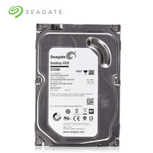 Seagate disco rígido interno mecânico, marca 320 gb desktop pc 3.5
