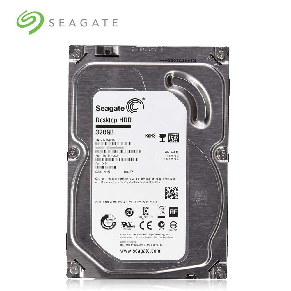 "Seagate marca 320 gb desktop pc 3.5 ""disco rígido mecânico interno sata 3-6 gb/s hdd 320 gb 7200 rpm 8 mb/32 mb buffer"