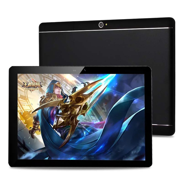 """Perfect For Games And Videos New 10 inch Tablet PC Android 7.0 Octa Core 4GB RAM 64GB ROM 1280*800 IPS 3G WCDMA Tablet 10""""+Gifts-in Tablets from Computer & Office    1"""