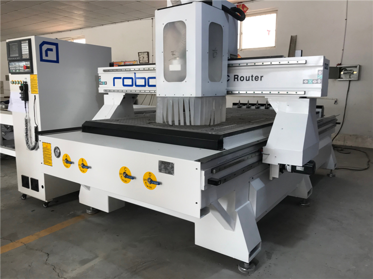 Hot Sale Chinese Price 4 8ft Wood 3d Atc Cnc Router 1325 Cnc Machine