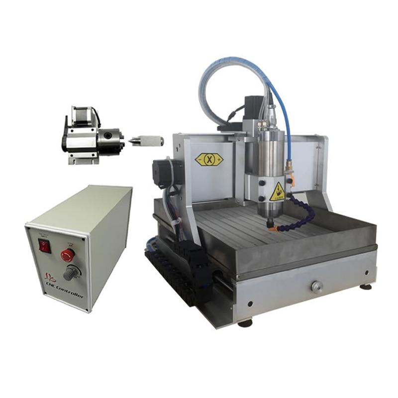 все цены на Free tax send to RU 1500w CNC 3020 USB port mach 3 software carving machine 4 axis mini cnc engraving machine with sink онлайн