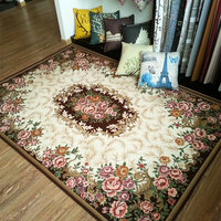 Fashion Anti Skid Jacquard Carpet For Living Room Dining Bedroom Mat Rug