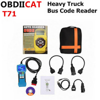 Diesel Heavy Duty Truck T71 OBD2 OBD 2 Auto Scanner Diagnostic Tool OBD2 Code Reader With J1939/J1587/1708 Protocol