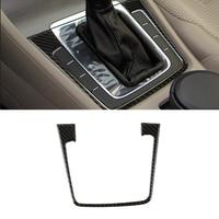 For VW Golf 7 MK7 VII 2013 2014 2015 2016 2017 Carbon Fiber Car Gear Shift Panel Cover Decor Trim ONLY LHD
