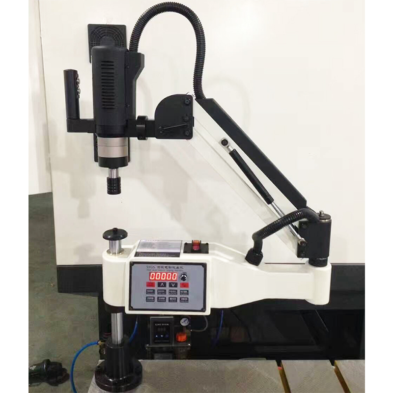 CE 220V M6-30 Universal Type Servo Motor Electric Tapper Tapping Tool Machine-working Taps Threading Machine Electric Tapping