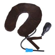 Air Cervical Soft Neck Brace Device for Headache, Back & Shoulder Pain – Cervical Traction Device : Comfortable Neck Massage