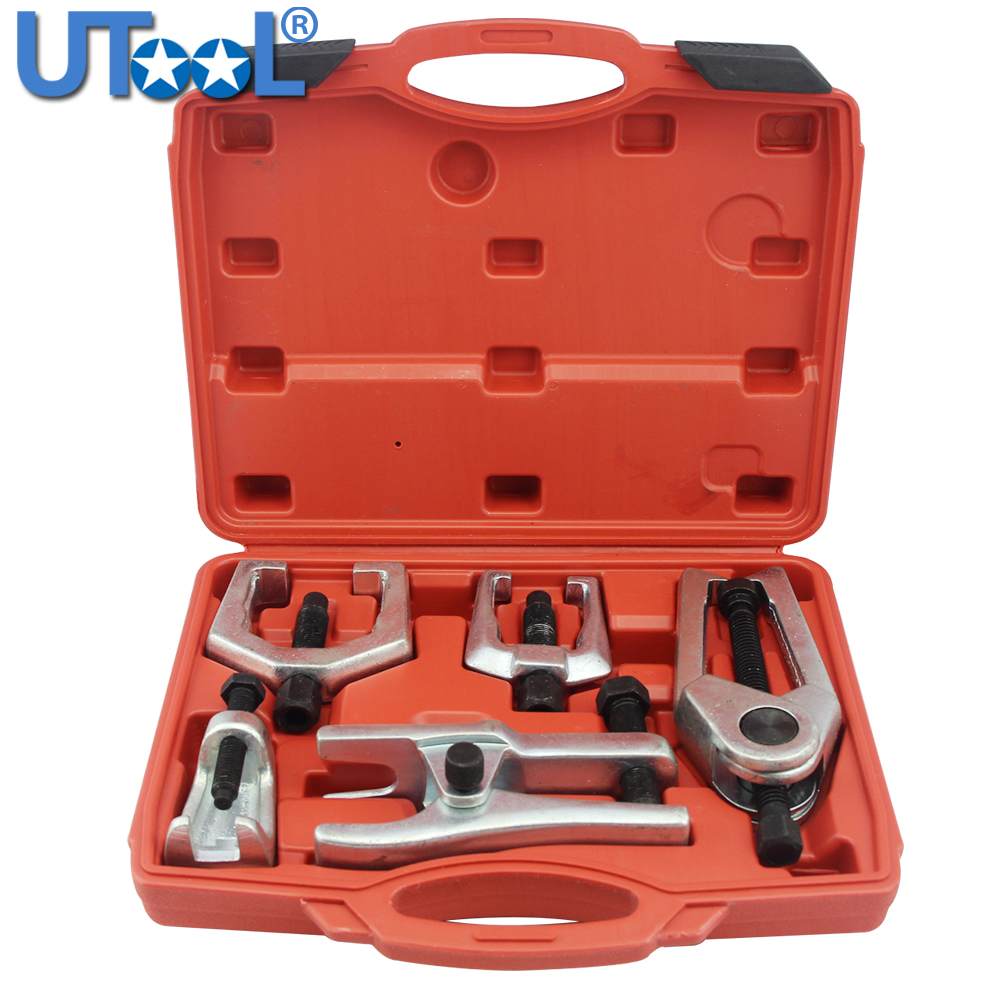 Ball Joint Press /& U Joint Removal Service Tool Kit with 4x4 Adapters PT1151 Heavy Duty Ball Joint Separator
