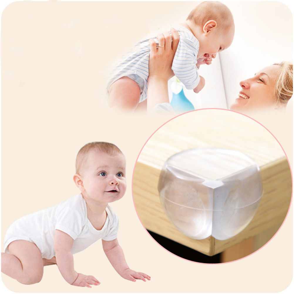 1xProtection Table Corner Baby Safety Silicone Protector Children Safety Edge & Corner Guards For Bed Computer Table Closet