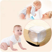 1xProtection Table Corner Baby Safety Silicone Protector Children Safety Edge & Corner Guards for bed computer table closet(China)