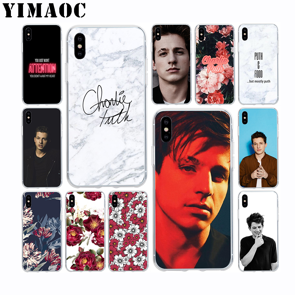 US $1 74 30% OFF|YIMAOC Charlie Puth Attention Soft TPU Silicone Case for  Apple Iphone Xr Xs Max X 10 8 Plus 7 6S 6 Plus SE 5S 5 7Plus 8Plus-in  Fitted