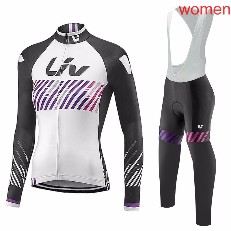 4abff7741 Liv 2018 Outdoor Sports Spring Summer Bike Bicycle Cycling long Sleeves jersey  bib pants sets MTB Clothing Women Wear G2002 - aliexpress.com - imall.com