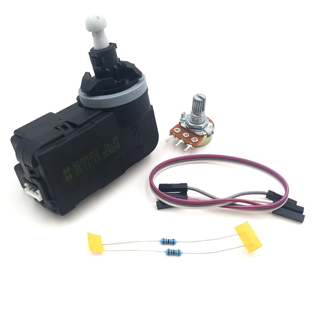 1PCS DC12V Telescopic Motor Servo Motor Car lights regulates motor for DIY model making