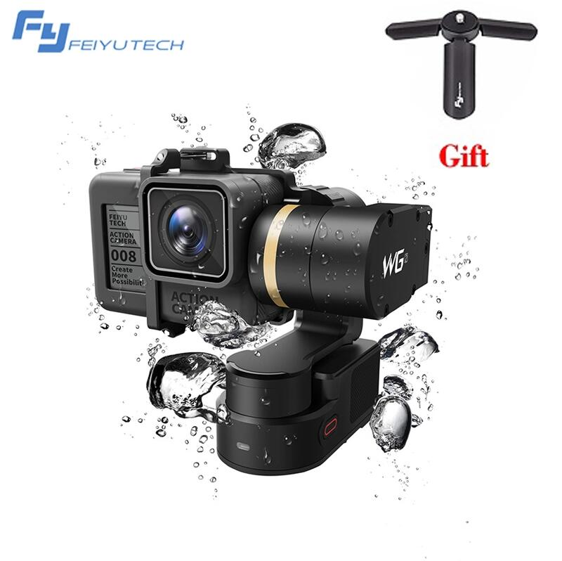 FeiyuTech Feiyu WG2 FY-WG2 with Remote Control 3-Axis Wearable Waterproof Gimbal for Gopro 4/5/Session and Similar Size Cameras feiyu tech fy wg mini 2 axis wearable gimbal