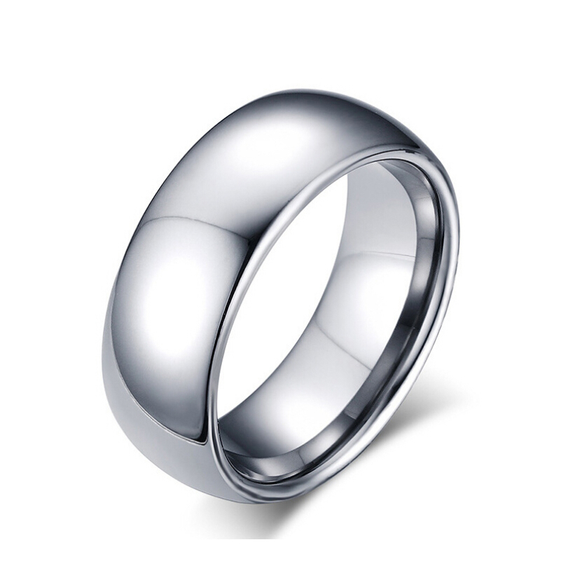 Top Quality Men Rings Tungsten Wedding Ring for Man Wholesale