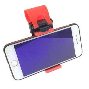 Image 2 - Soporte de teléfono para coche, Clip de montaje para bicicleta, para iPhone 7 Plus, Samsung S9 Plus, 8 9 Xiaomi, carga