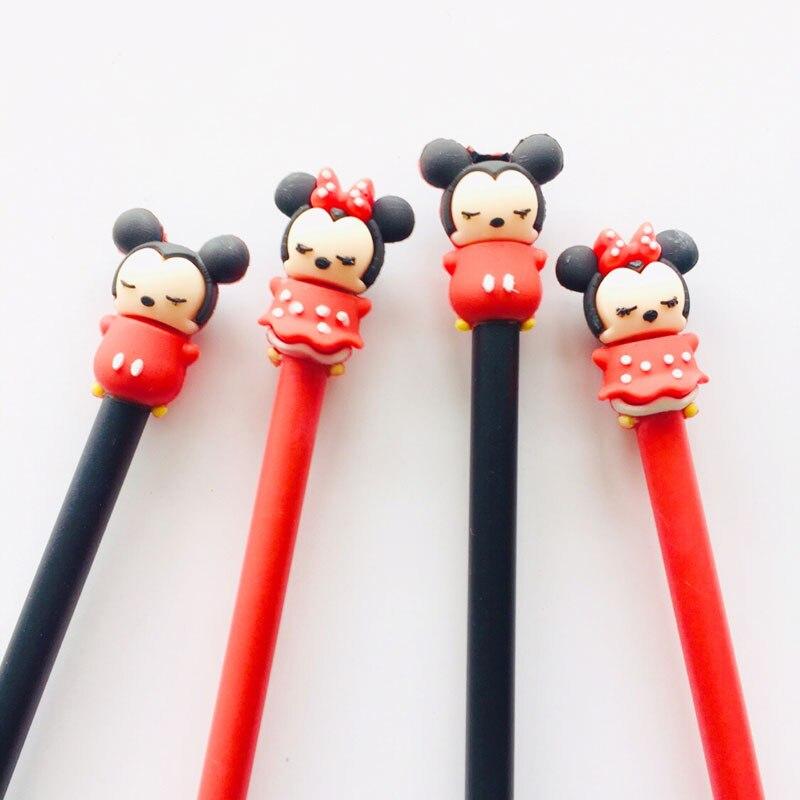 1PC Kawaii Mouse Gel Pen Writing Pen School Office Supply Stationery Black Ink 0.5mm