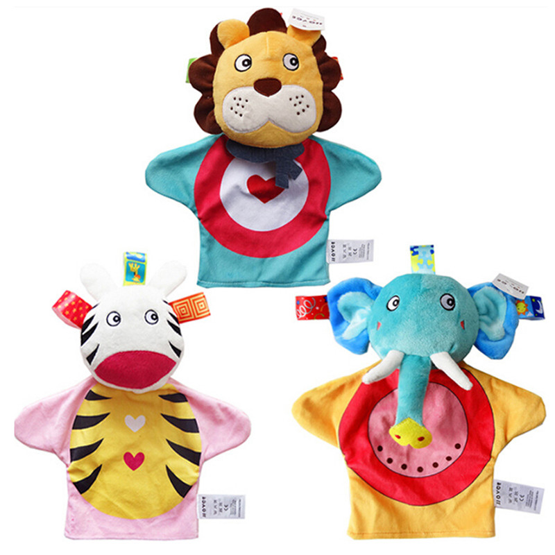Early Childhood Educational Toys Baby Kids Animal Hand ...