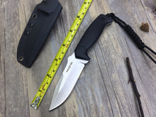 New Fixed Knives,D2 Blade G10 Handle Italy FOX Hunting  Classic Stone Wash Camping Knife,Tactical Knife