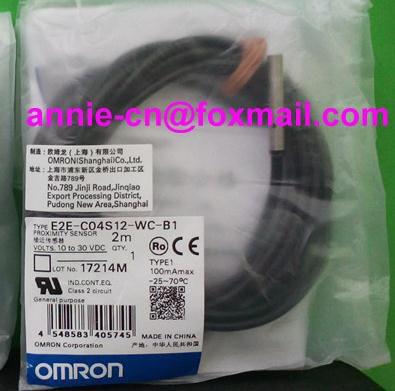 New and original  E2E-C04S12-WC-B1  OMRON  Proximity sensor,Proximity switch, 10-30VDC balluff proximity switch sensor bes 516 383 eo c pu 05 new high quality one year warranty