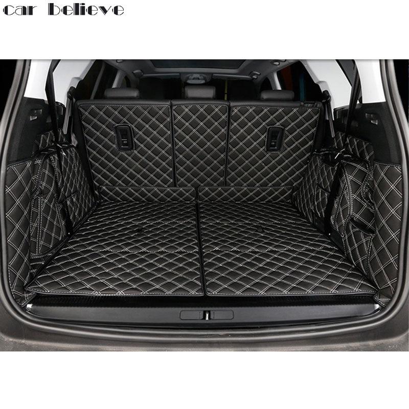 Car Believe Custom car trunk mat For peugeot 5008 4008 307 ...